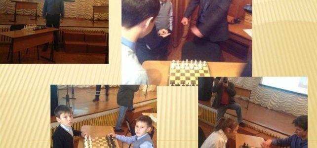 Открытие турнира на личное первенство по шахматам на приз директора школы