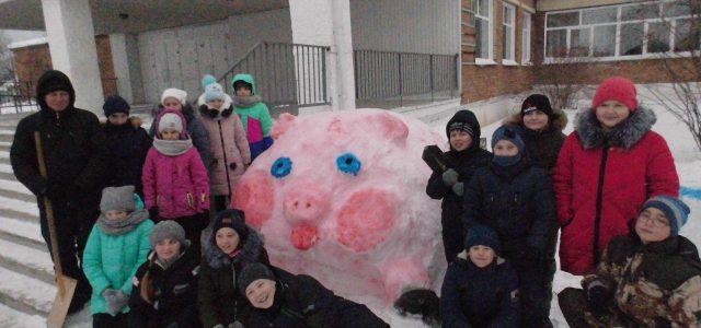 Зимняя сказка двора